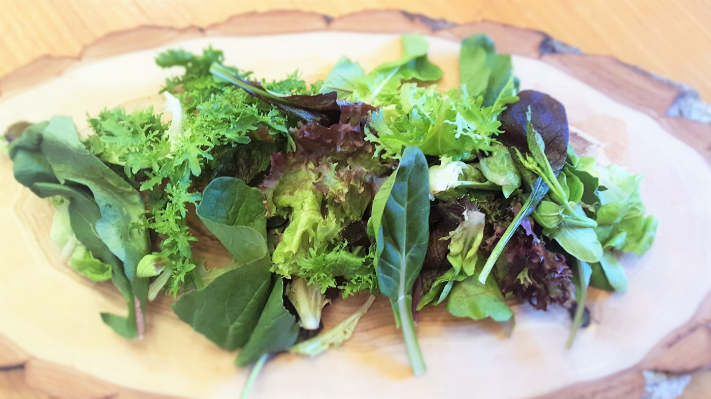 Spicy Asian Mixed Greens