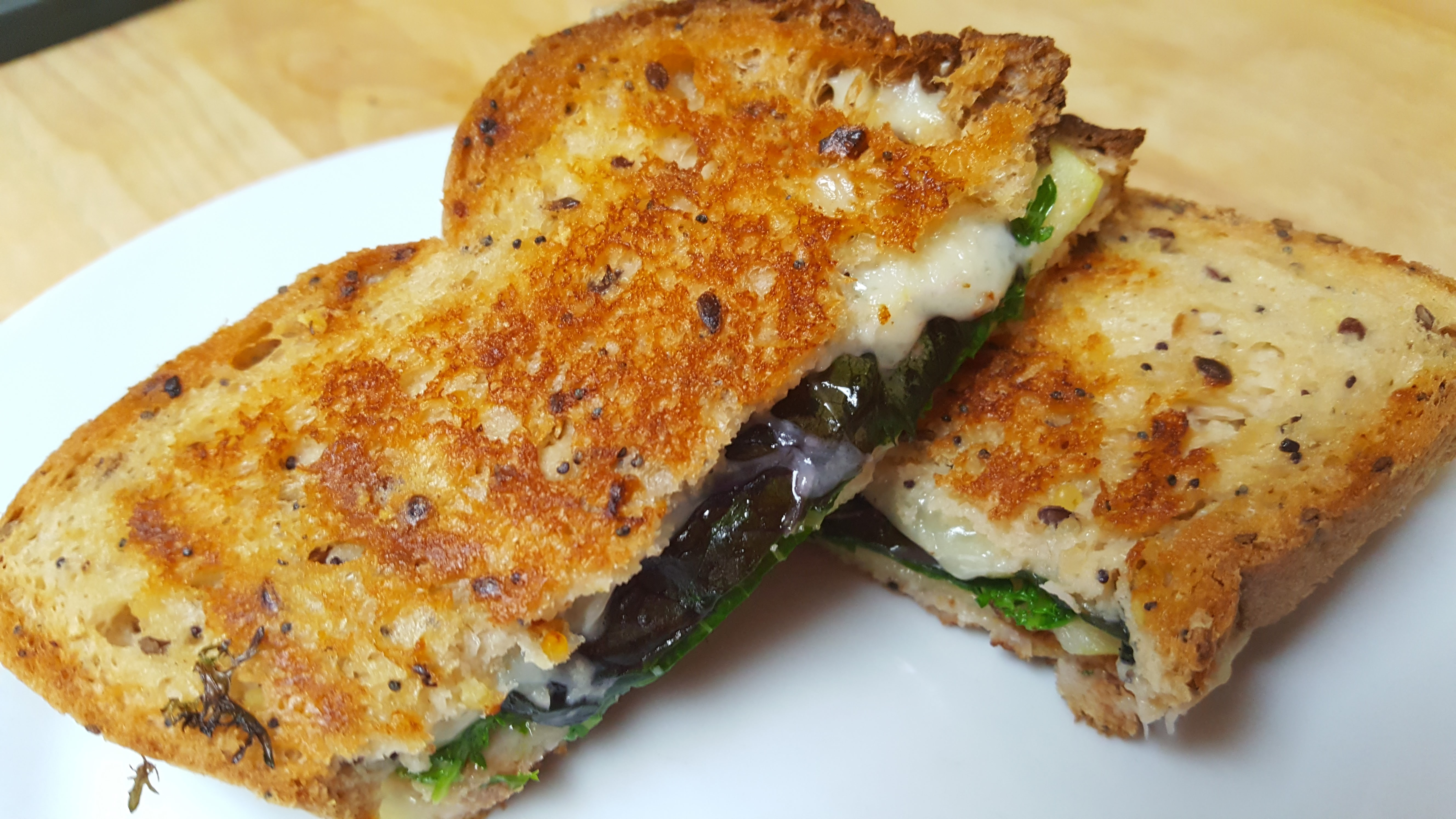 Gluten Free Grilled Cheese Sandwich